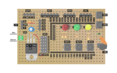 Stm32py daughter board schematic