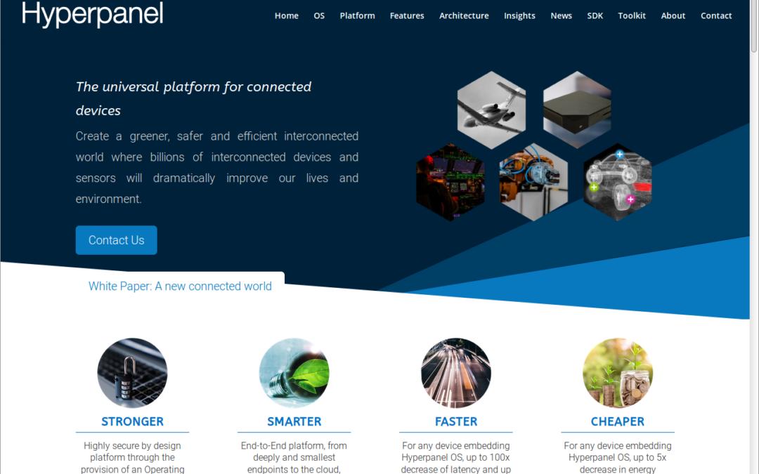 Hyperpanel new website