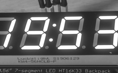 New tutorial about Pyboard LED 7-segments display | #219
