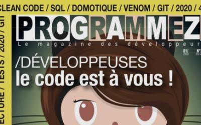 Hyperpanel OS in January's Programmez! magazine