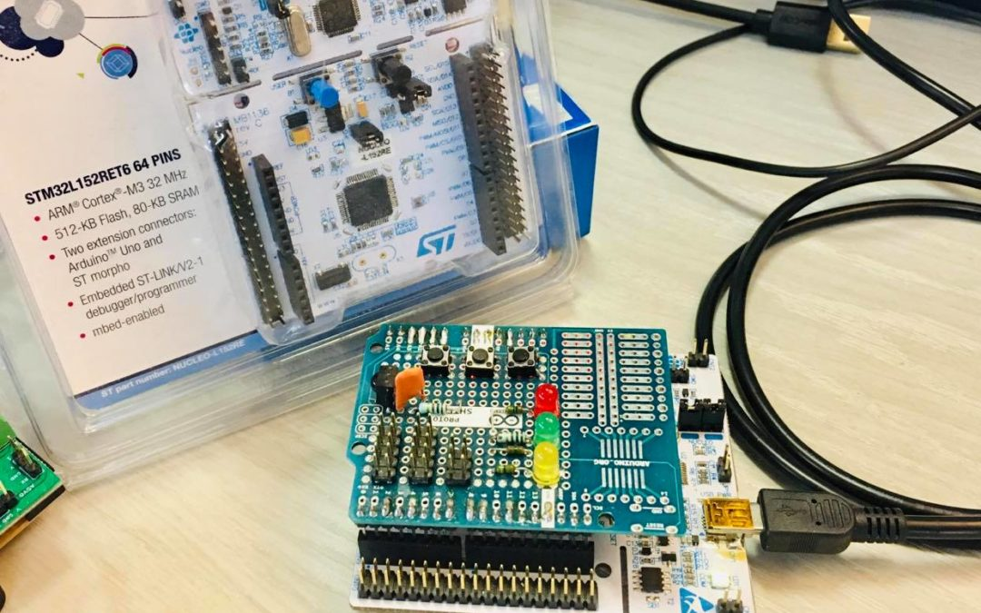 Welcome to the STM32 Nucleo Cortex M3.
