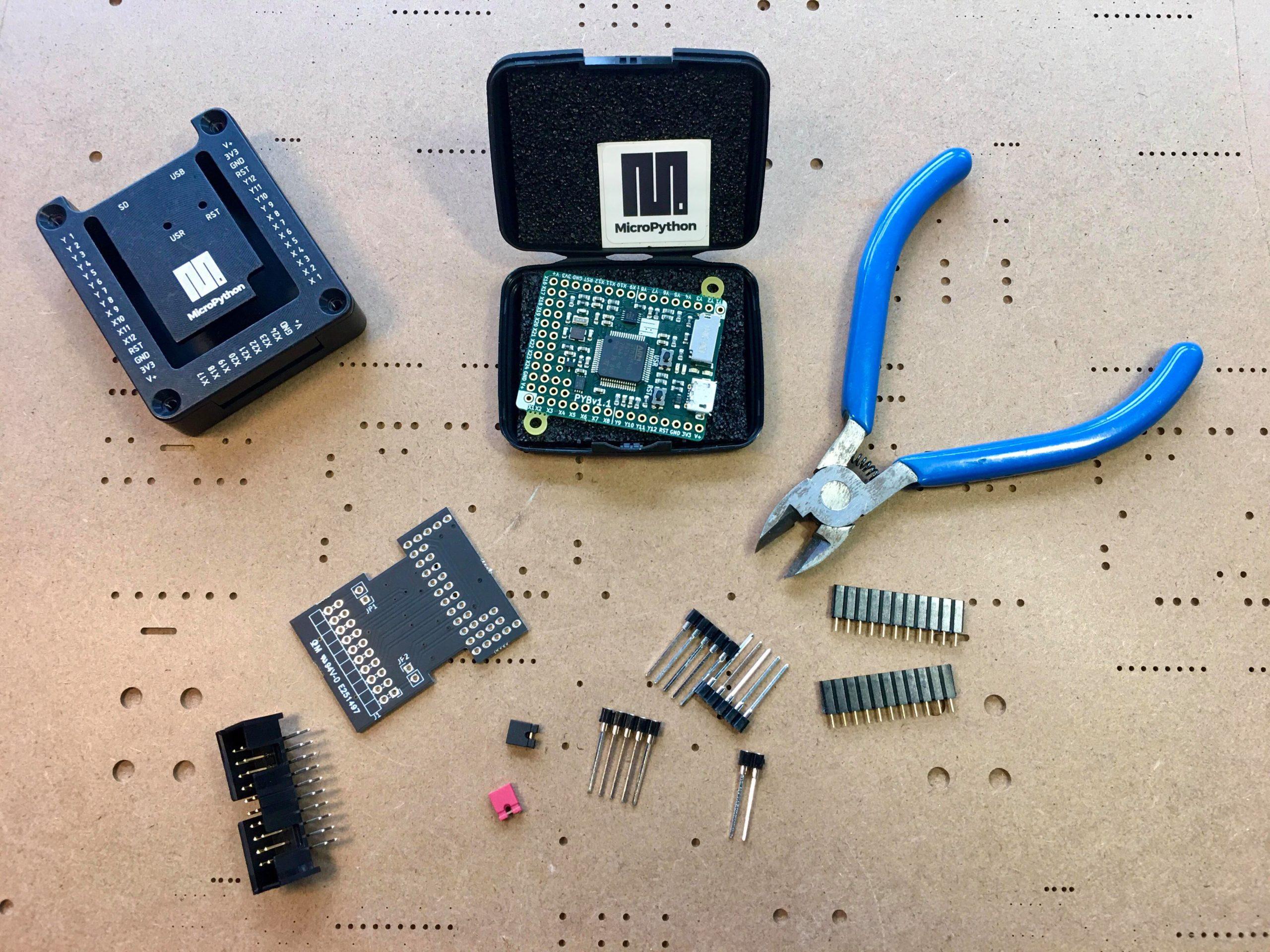 Hyperpanel OS - STM32PY board