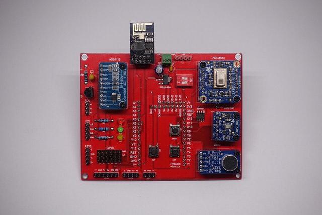 New multi-sensor shield