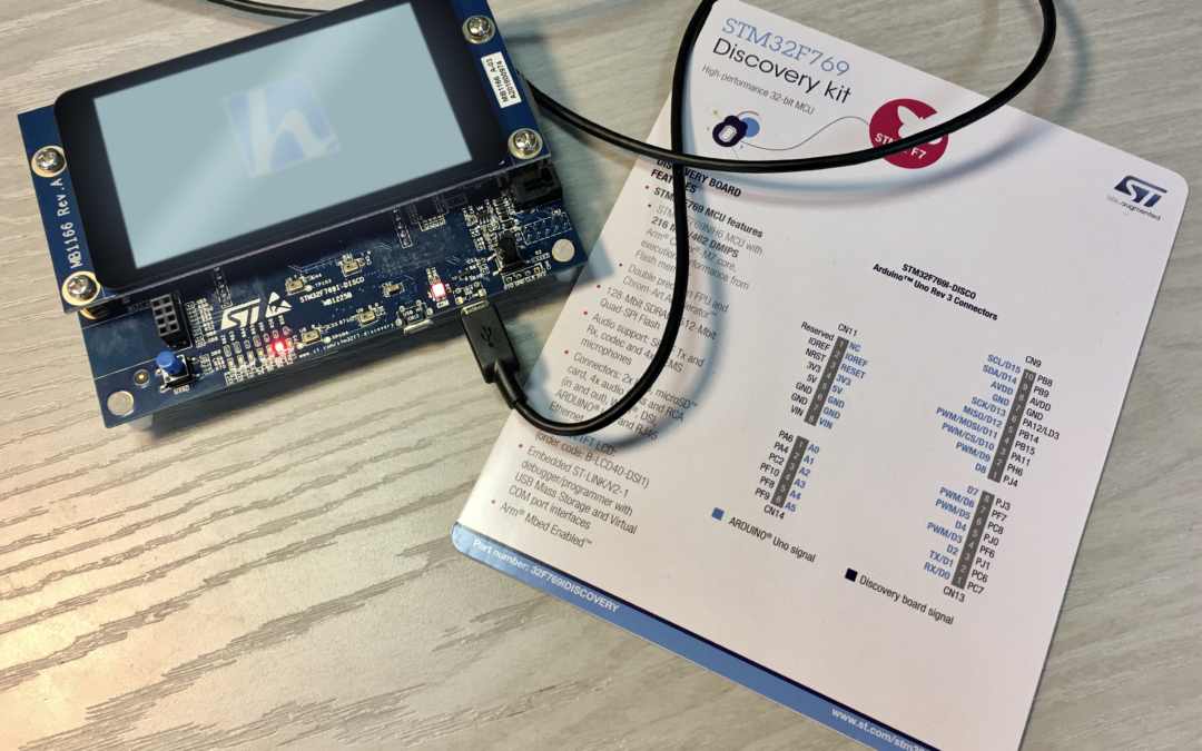 Welcome to the STM32F769 Discovery kit.